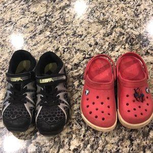 Other - Bundle boys 13 shoes / crocs / leepz